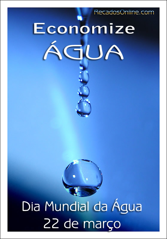 Recado Para Orkut - Dia Mundial da Água: 2