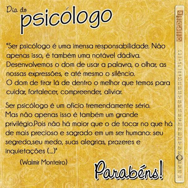 Dia do Psicólogo Imagem 4
