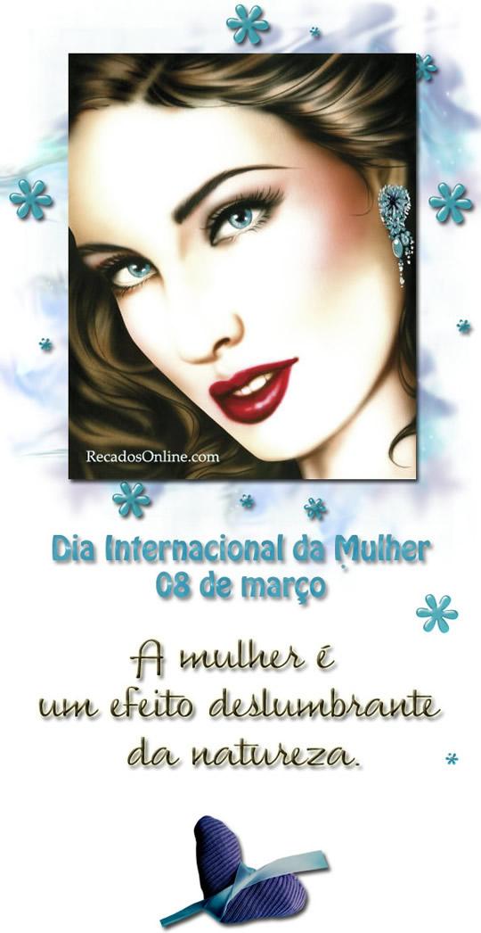 Dia internacional da mulher...
