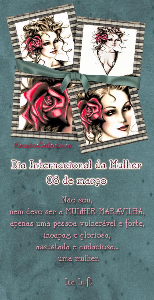 Dia internacional da mulher 08 de março...