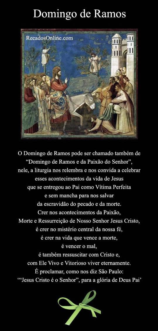 Domingo de Ramos imagem 2
