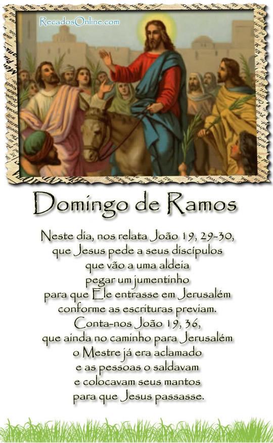 Domingo de Ramos imagem 3