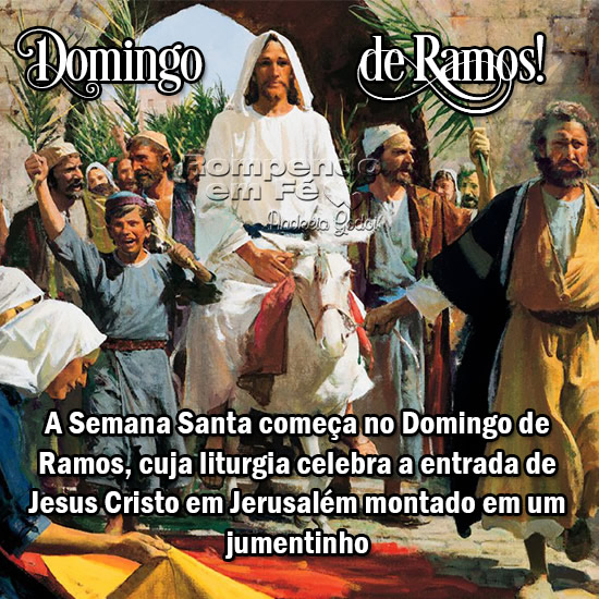 Domingo de Ramos Imagem 1
