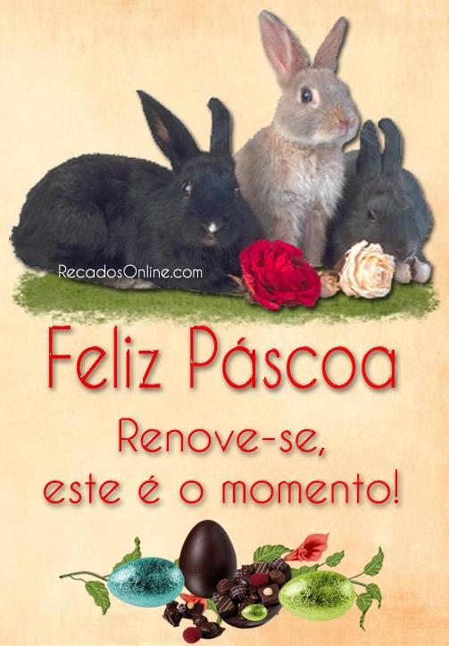 Feliz Páscoa Renove-se...