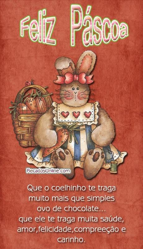 Feliz Páscoa Que o...