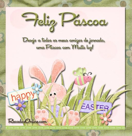 Feliz Páscoa Desejo a...