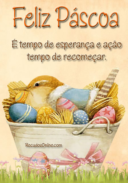 Feliz Páscoa É...