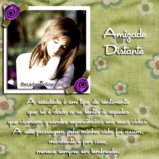 Amizade Distante Imagem 3