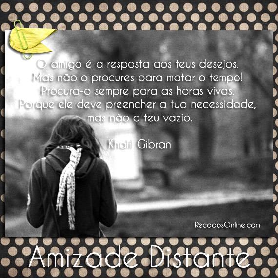 Amizade Distante imagem 13