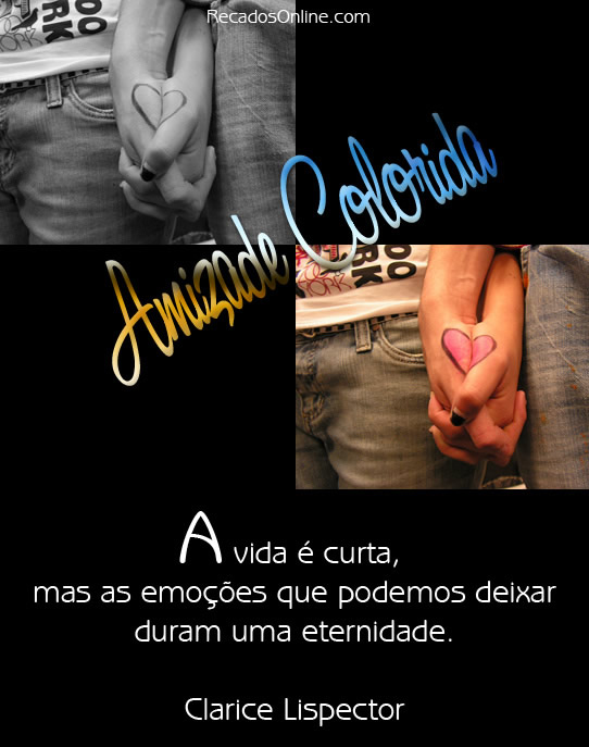 Amizade Colorida Imagem 1