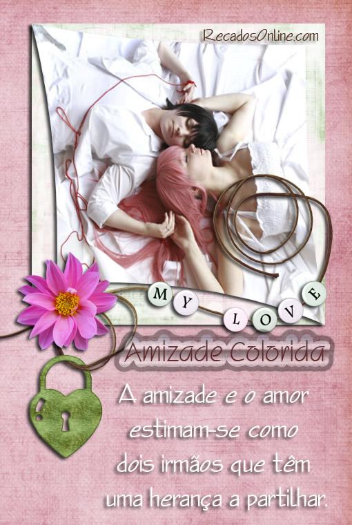 Amizade Colorida Imagem 3