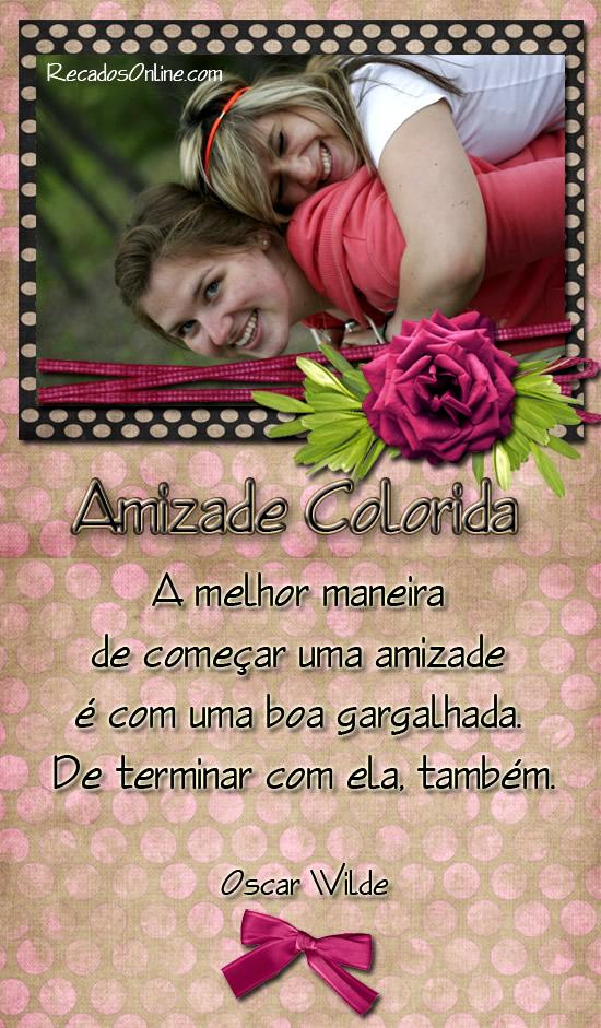 Amizade Colorida Imagem 10