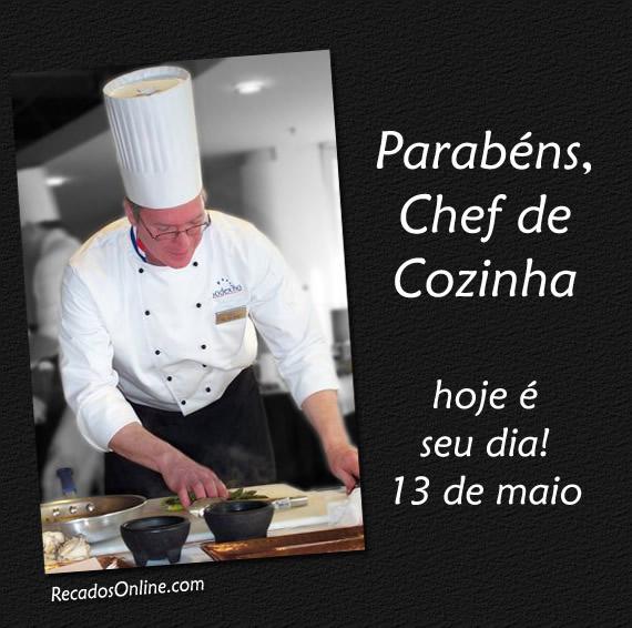 Resultado de imagem para DIA DO CHEFE DE COZINHA