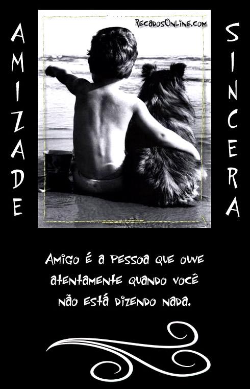 Amizade Sincera Imagem 3