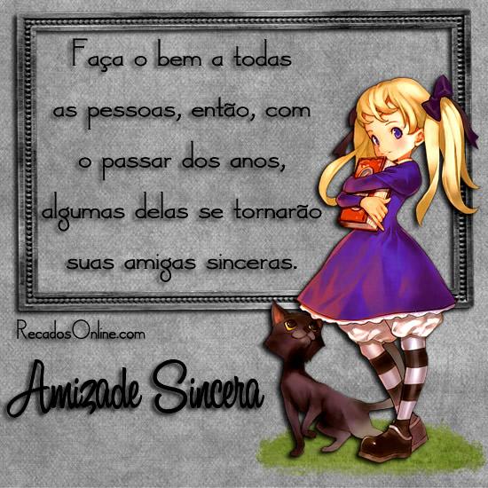 Amizade Sincera Imagem 7