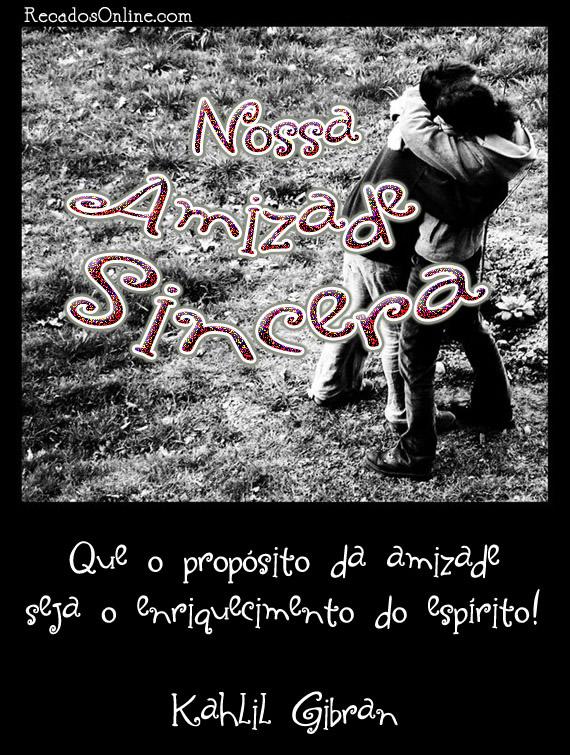Amizade Sincera Imagem 10