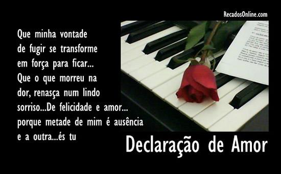 Declaração De Amor: Imagens E Mensagens Para Facebook