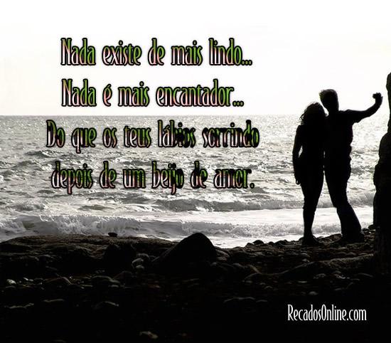 Declaração de Amor: Nada existe de...