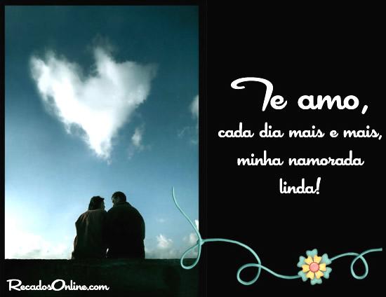 Te amo, cada dia mais e mais...