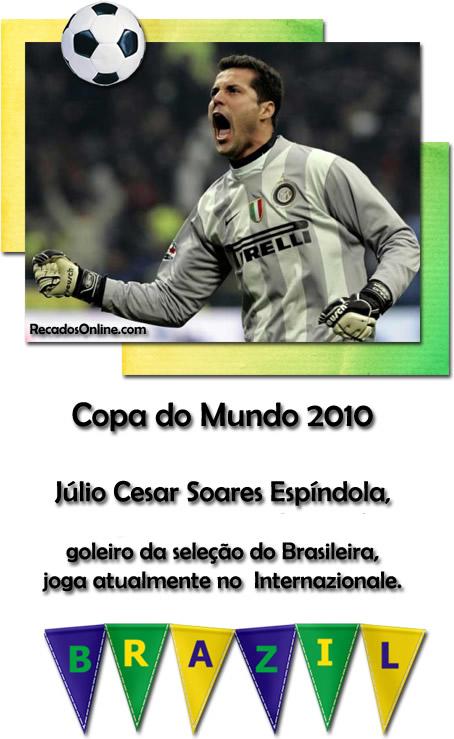 Seleção Brasileira Copa 2010 Imagem 1