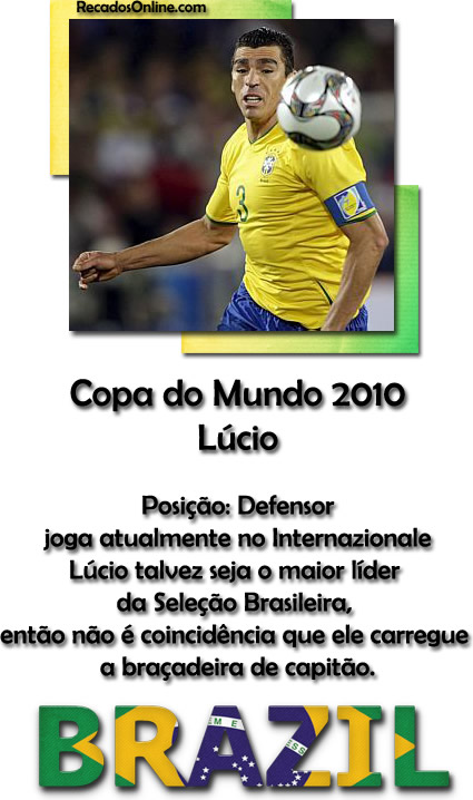 Seleção Brasileira Copa 2010 Imagem 4