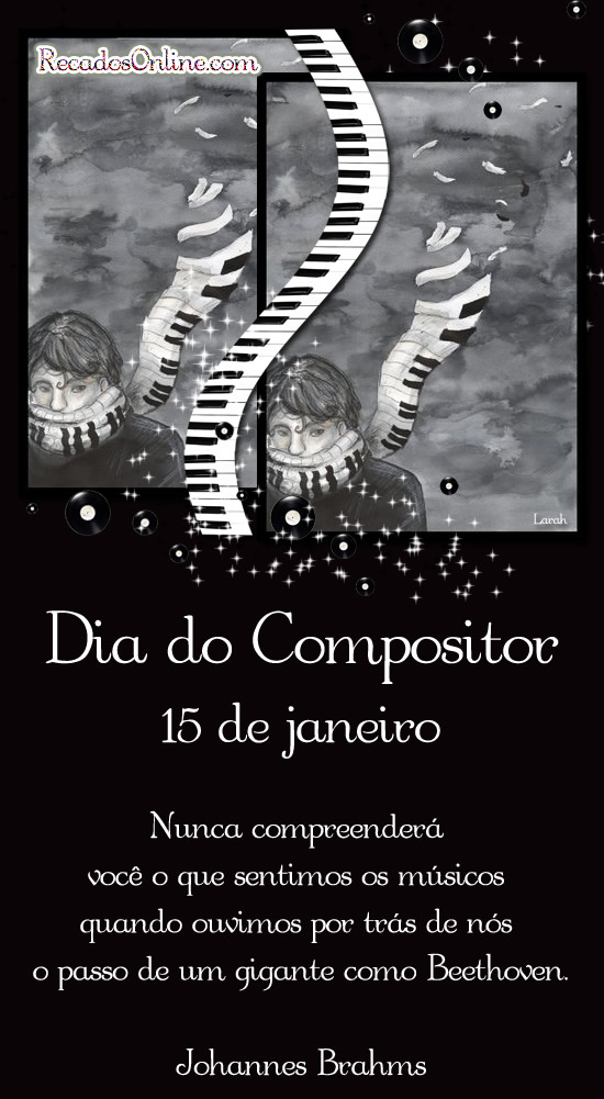 Dia do Compositor - 15 de...