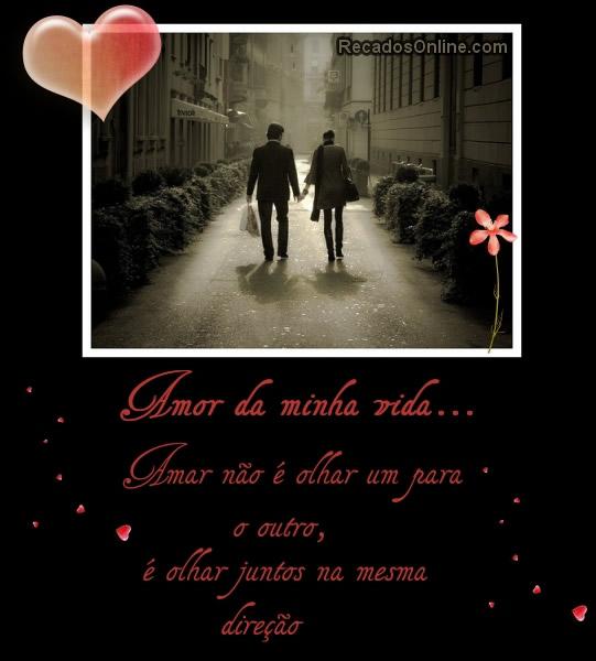 Amor da minha vida Amar...