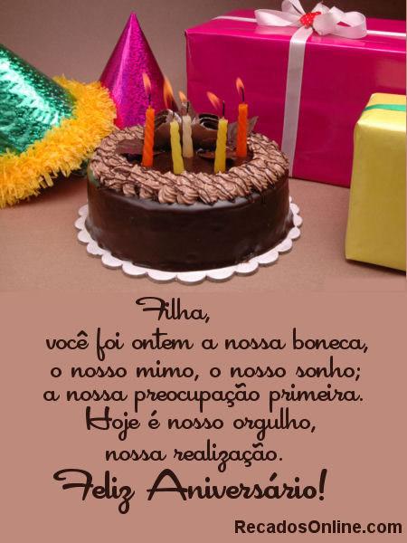 Feliz Aniversário Filha Imagem 4