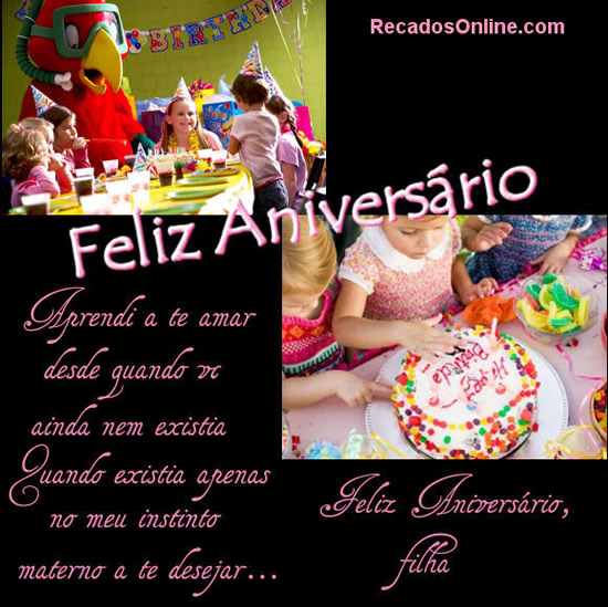 Feliz Aniversário Filha Imagem 6