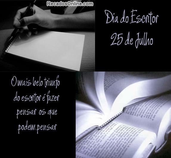 Dia do Escritor imagem 2