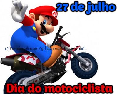 27 de Julho Dia do Motociclista