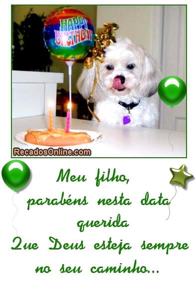 Feliz Aniversário Filho imagem 3