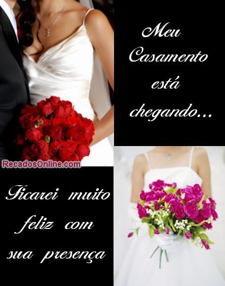 Convites de casamento para imprimir - Convites de Casamento