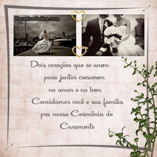Convites para Casamento imagem 3