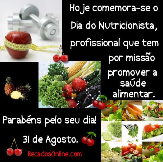 Hoje comemora-se o Dia do Nutricionista, profissional que tem por missão promover a saúde alimentar. Parabéns pelo seu...