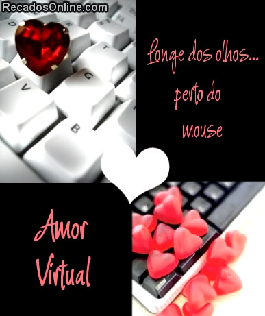 Recado Para Orkut - Amor Virtual: 6
