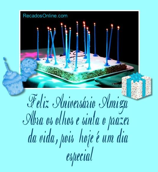 Feliz aniversário...