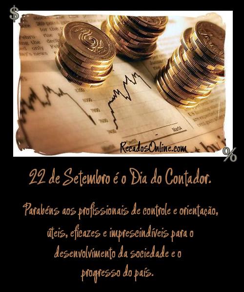 22 de Setembro é o Dia do Contador...