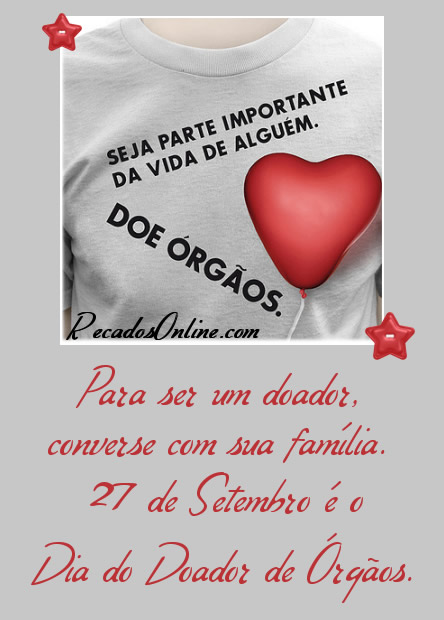Dia do Doador de Órgãos imagem 7