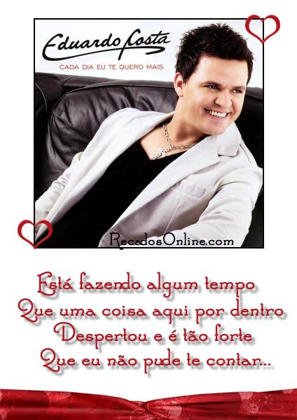 Eduardo Costa - Cada dia eu te...