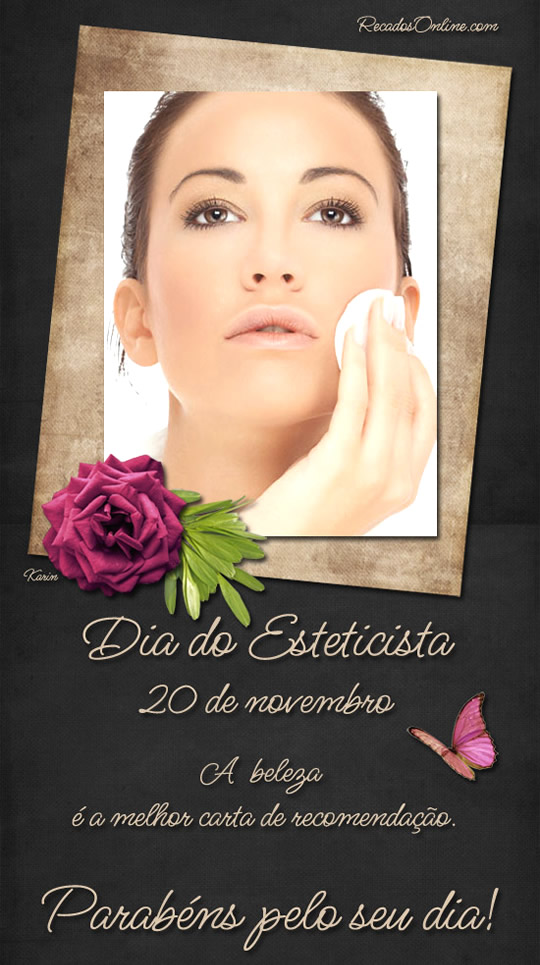 Dia do Esteticista 20 de Novembro A...