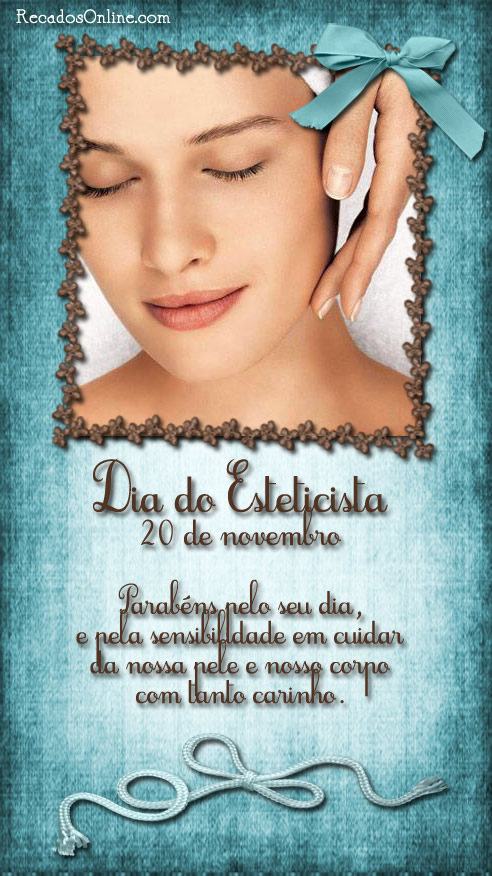 Dia do Esteticista 20 de...