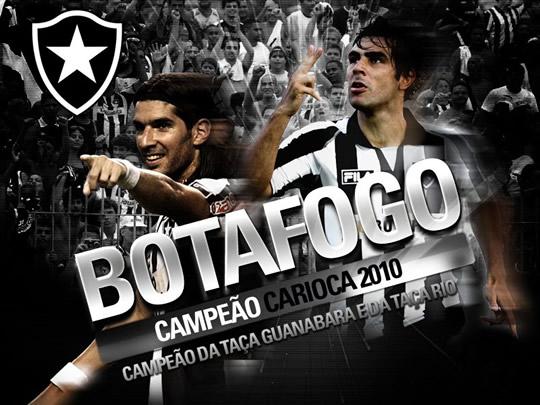 Botafogo Campeão Carioca 2010 Campeão da Taça Guanabara e da Taça Rio