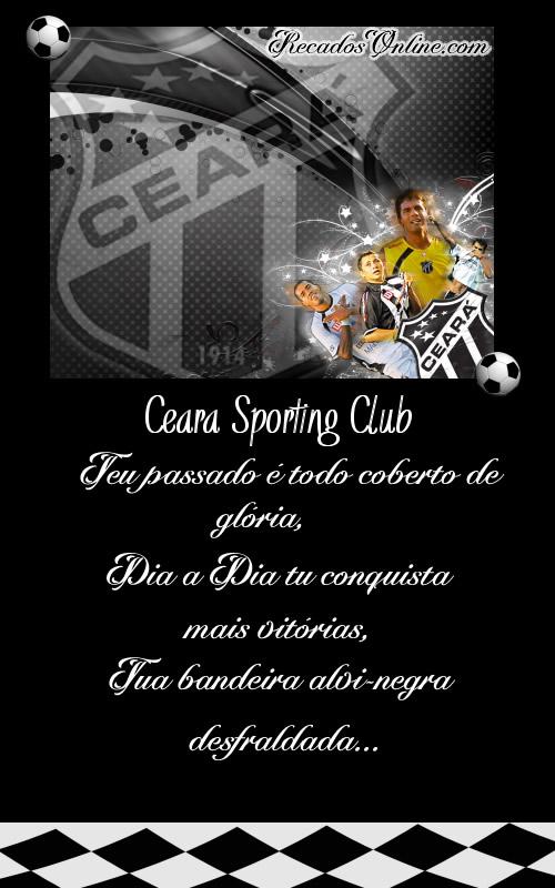 Ceará Sporting Club Teu passado é todo...