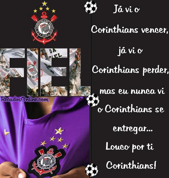 Já vi o Corinthians...