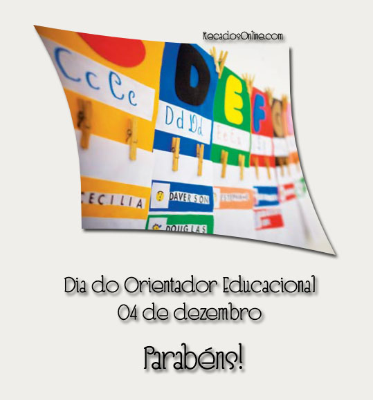 Dia do Orientador Educacional