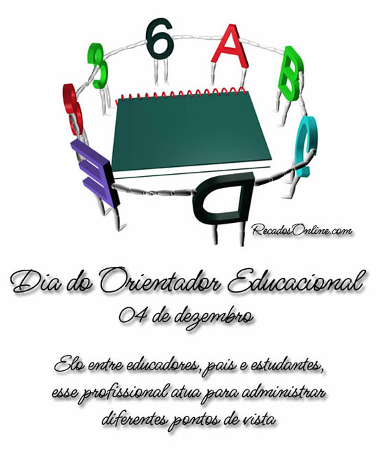 Dia do Orientador Educacional...