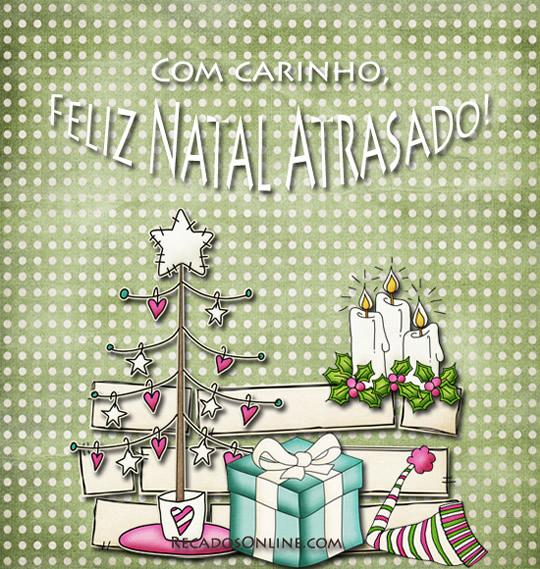Com Carinho, Feliz Natal...
