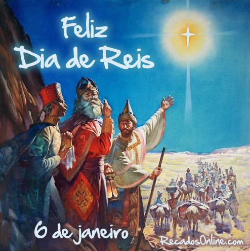 Feliz Dia de Reis 6 de Janeiro