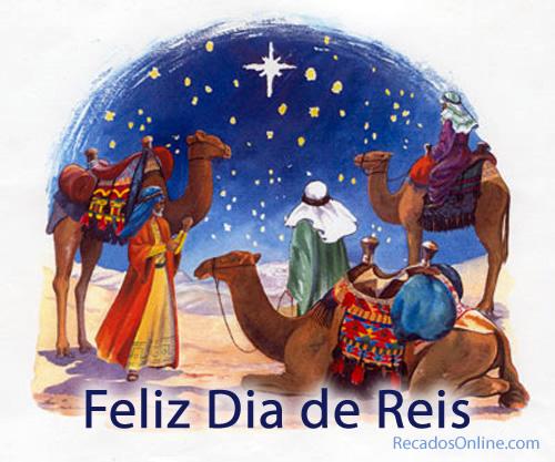 Feliz Dia de Reis.